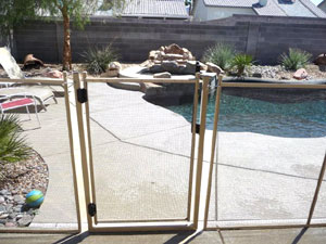 Removable Pool Fence pool safety fence | pool guard of nevada
